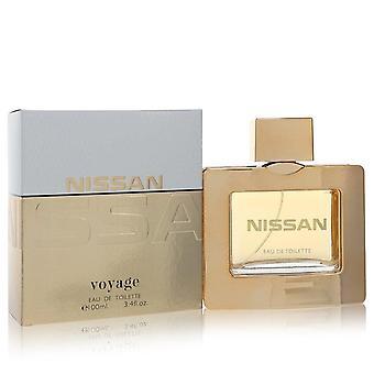 Nissan voyage eau de toilette spray by nissan 100 ml