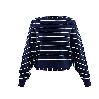 MARBLE Marble Navy Sweater 6100