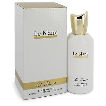 Le Luxe Le Blanc Eau De Parfum Spray By Le Luxe 3.4 oz Eau De Parfum Spray