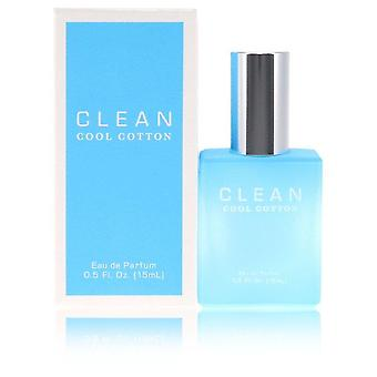 Clean Cool Cotton Eau De Parfum Spray By Clean 0.5 oz Eau De Parfum Spray