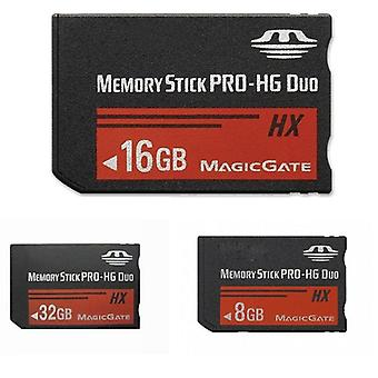 8gb 16gb 32gb 64gb Psp 1000/2000/3000 Memory Stick Ms Pro Duo Memory Card