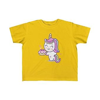 Unicorn Loves Strawberry Shortcake Kid Tee
