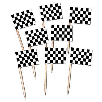 Selecciones de bandera a cuadros (pack de 12)