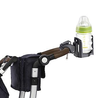 Modern adjustable baby stroller cup holder