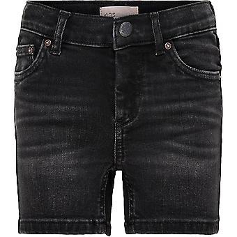 Only Kids Girls Denim Shorts Bottoms Drawstring 5 Poches