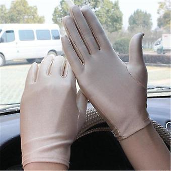 Полный палец Вождение перчатки, солнцезащитный крем короткие перчатки