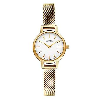 LLARSEN Analogueic Watch Quartz Woman with Stainless Steel Strap 145GWG3-MG8