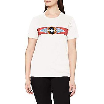 Superdry Vintage Casual T-paita, Queen Marl, 6 Nainen