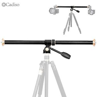 Horizontal Bar Camera Mount Tripod Boom Rotatable Multi-angle Center Column Rod