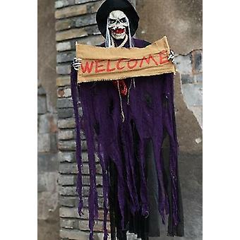 Halloween roikkuva aave kummittelee Viikate viitat kauhu oven koristeet