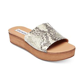 Steve Madden Womens Geneca Flatform Slide Sandals