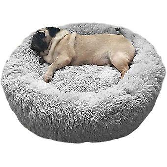 Haustierbett Hundebett Katzenbett Rund Weich und Weich für Haustiere/Welpen/Haustier/Katzenbett in