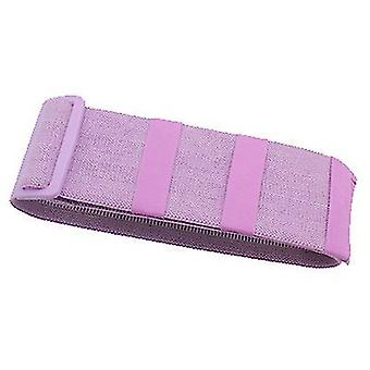 Purple adjustable non-slip yoga tension belt, hip lifting belt az9883