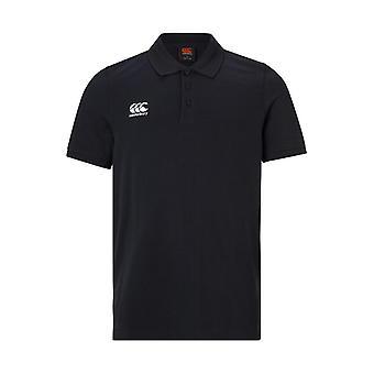 Canterbury Waimak Polo Shirt schwarz - klein