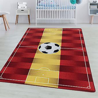 Tappeto della camera per bambini GIOCO Short pile tappeto per bambini Gioca tappeto Calcio Spagna