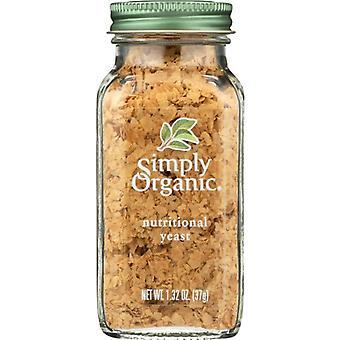 Simply Organic Yeast Nutrnl Cert Org, Case of 6 X 1.32 Oz