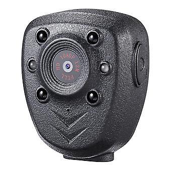 Hd 1080p police corps revers porté caméra vidéo dvr ir nuit visible led light cam 4 heures enregistrement numérique mini dv enregistreur voix 16g