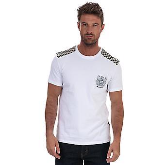 Men's Aquascutum Taped T-Shirt in White