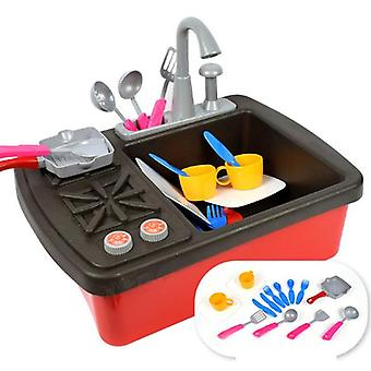 Sink And Stove - Interactive & Realistic With Sounds - Pretend Play Appliance For Kids