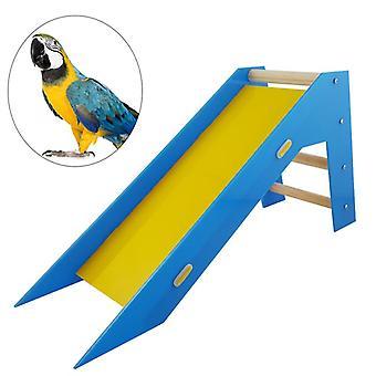 Haustier Vogel Rutsche Leiter Skill Trainng Pädagogisches Spielzeug Vogel Spielzeug Rutschleiter für Trainng Papagei