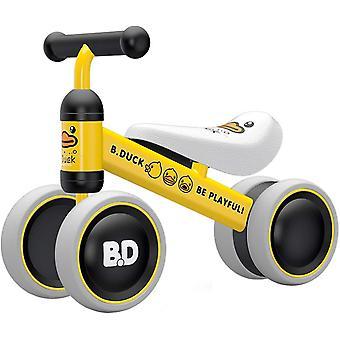 Kinder Laufrad ab 1 Jahr | Spielzeug Lauflernrad mit 4 Räder für 10 - 24 Monate Baby, Erst Rutschrad