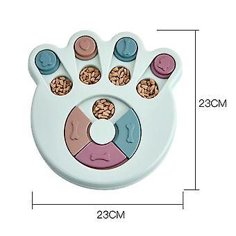 الكلب لغز اللعب المغذية التفاعلية زيادة موزع الطعام تناول الطعام ببطء nonSlip السلطانية| لعب الكلب