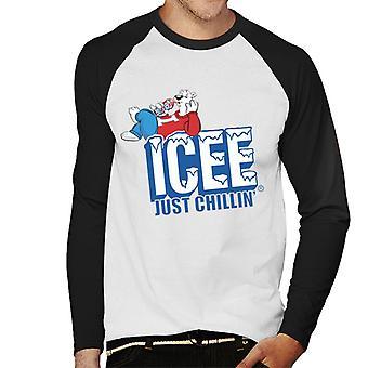 ICEE Just Chillin Men's Baseball Long Sleeved T-Shirt