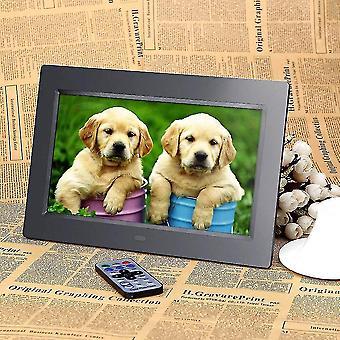 HD LCD الرقمية إطار الصورة التنبيه Mp3 Mp4 مشغل الفيلم + ساعات المنبه البعيد