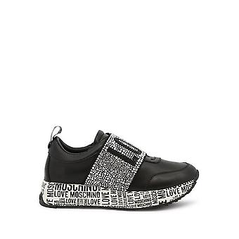 Love Moschino - Shoes - Sneakers - JA15234G1DIE0-000 - Women - Schwartz - EU 35