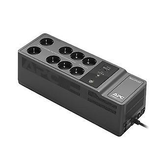 APC BE850G2-GR, Vänteläge (offline), 0,85 kVA, 520 W, Sinus, 220 V, 230 V