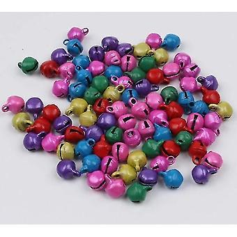מיני צבעוני פעמון חג המולד ג'ינגל פעמונים חרוזים רופפים - פעמון עבודת יד Diy