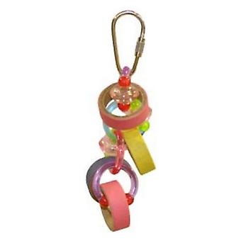 AE Cage Company Happy Beaks Keet Rings Bird Toy - 1 count
