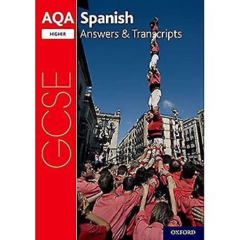 AQA GCSE Spanish: Key Stage Four: AQA GCSE Spanish Higher Answers & Transcripts (AQA GCSE Spanish)