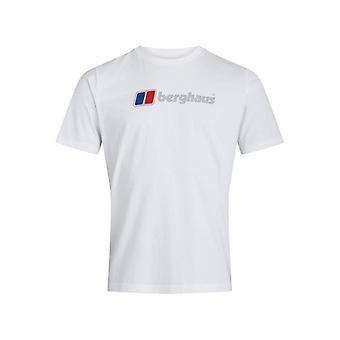 Berghaus organic big classic logo t-shirt - white