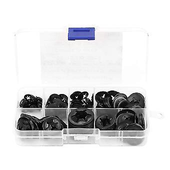 Washers locking washers  260pcs star lock washers dental washer for washer manganese steel pressure size