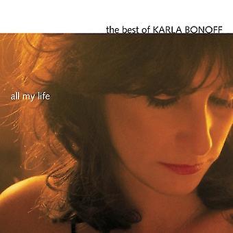Karla Bonoff - alla mina liv-bästa Karla Bono [CD] USA import