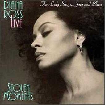 Diana Ross - Lady Sings Jazz & Blues-Stolen Moments [CD] USA import