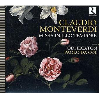 C. Monteverdi - Monteverdi: Missa in Illo Tempore [CD] USA import