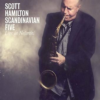 Hamilton Scott - Live at Nefertit [CD] USA import