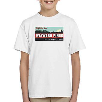 Where Paradise Is Home Wayward Pines Kid's T-Shirt