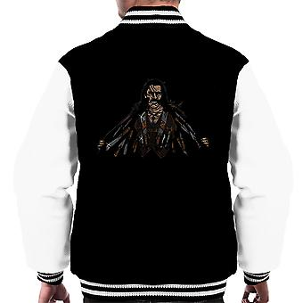 Say Hello To My Little Friends Machete Men's Varsity Jacket