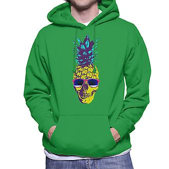 Skull Pineapple Men's Hooded Sweatshirt