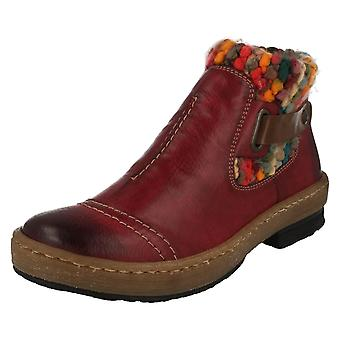 Ladies Rieker Casual Ankle Boots Z6784