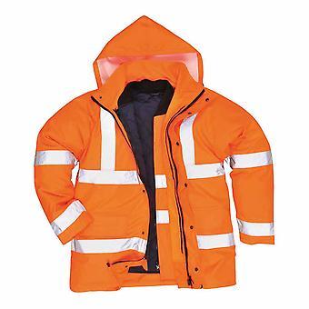 Portwest - Hi-Vis turvallisuus 4 1 liikenteen työvaatteet takki