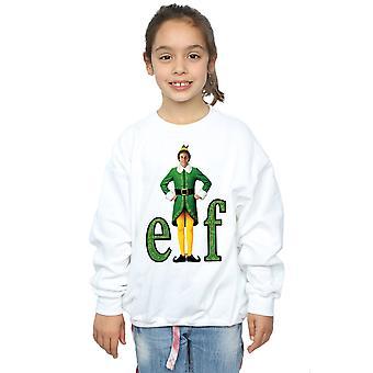 Elf Mädchen Buddy Logo Sweatshirt