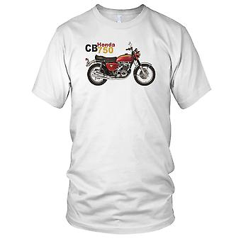Honda CB750 Classic Motorbike Biker Kids T Shirt