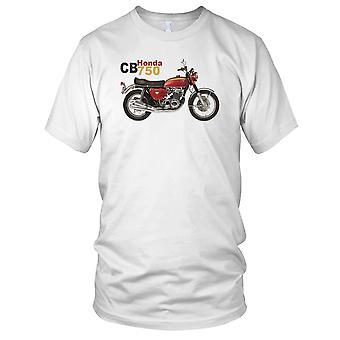 Honda CB750 klassische Motorrad Biker Kinder T Shirt