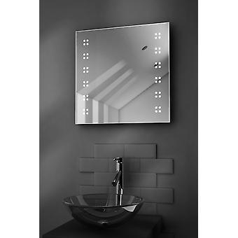 Alpha Slim LED Badezimmerspiegel mit Demister Pad & Sensor k37