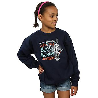 Looney Tunes Girls Vintage Bugs Bunny Sweatshirt