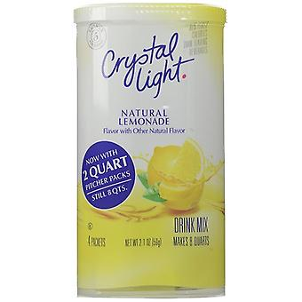 Crystal Light Lemonade Drink Mix Pitcher Packs